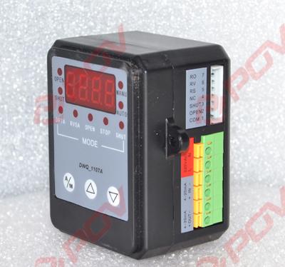 可安装在电动执行器接线盒内,也可导轨方式固定在外.