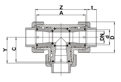 产品服务 球阀 气动球阀 >正文     pvc气动三通球阀尺寸图   d dn g图片