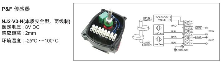 P+F回讯器接线图