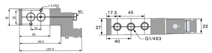 二位五通电磁阀工作原理图片