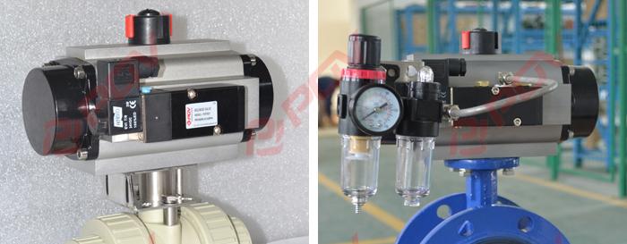 【电磁阀】二位三通电磁阀-用于单作用气动阀门气源图片