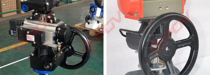 气动阀门手轮离合器应用