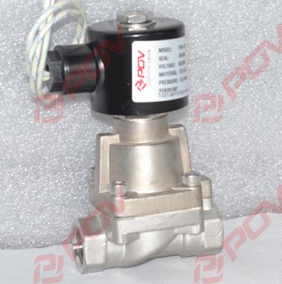 pog 高压电磁阀原理常闭式||不锈钢高压电磁阀dc24v图片