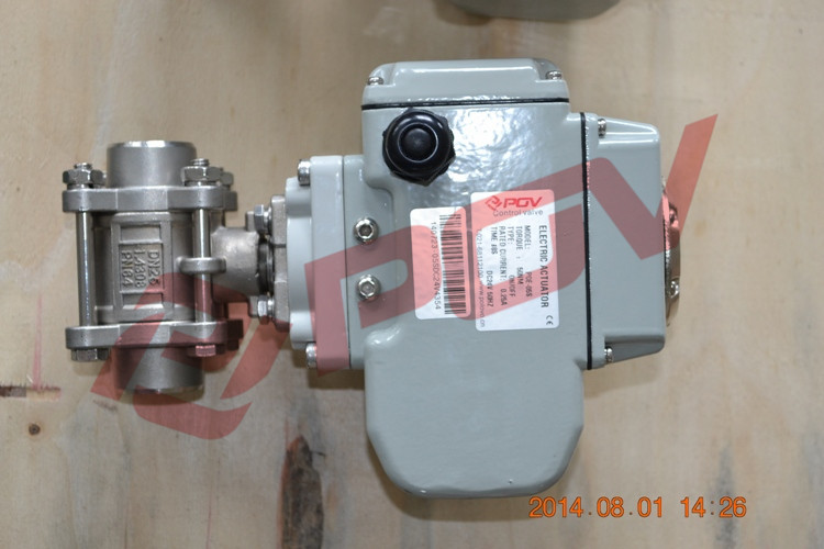 3 Pc Weld Electric Ball Valve